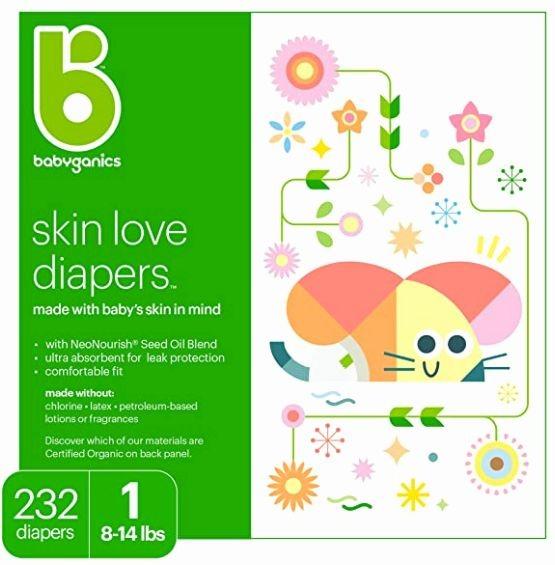 Babyganics Ultra Absorbant Diapers